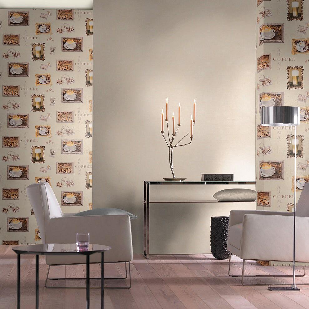 Tapeten wohnzimmer cappuccino – dumss.com