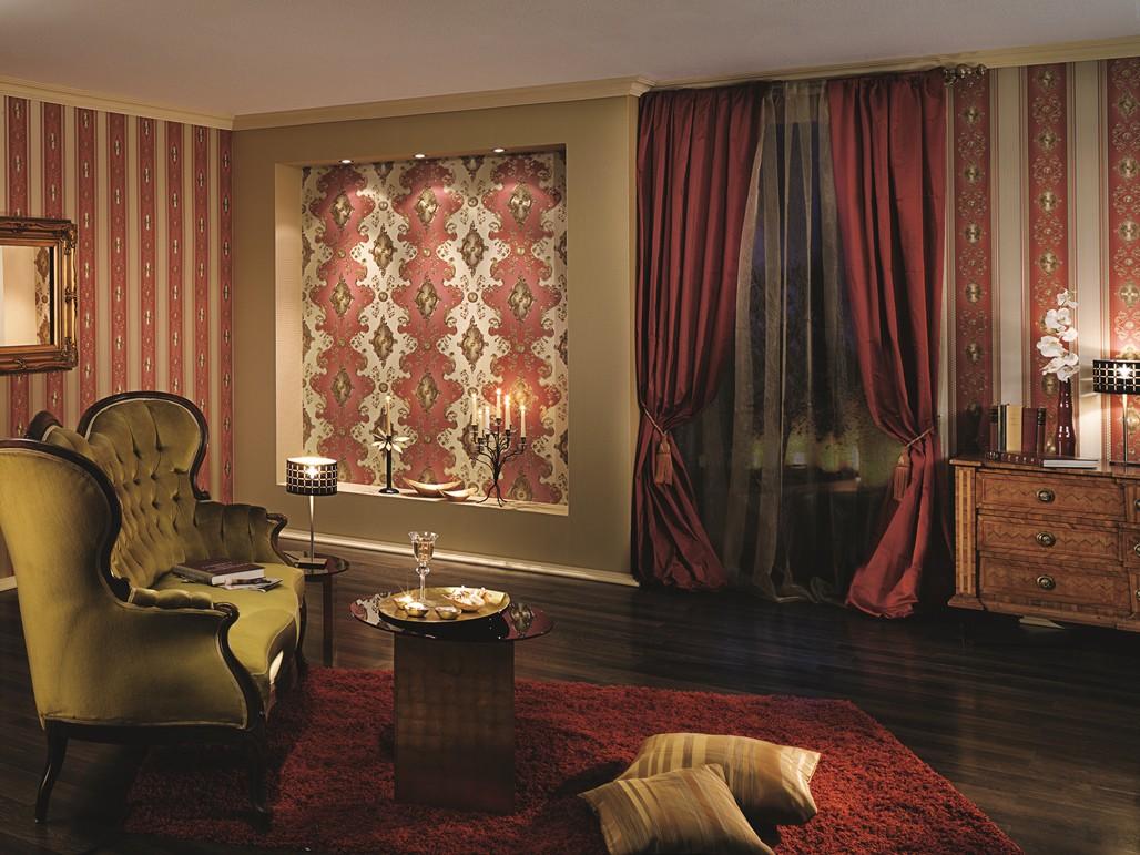 Schlafzimmer rot gold – midir