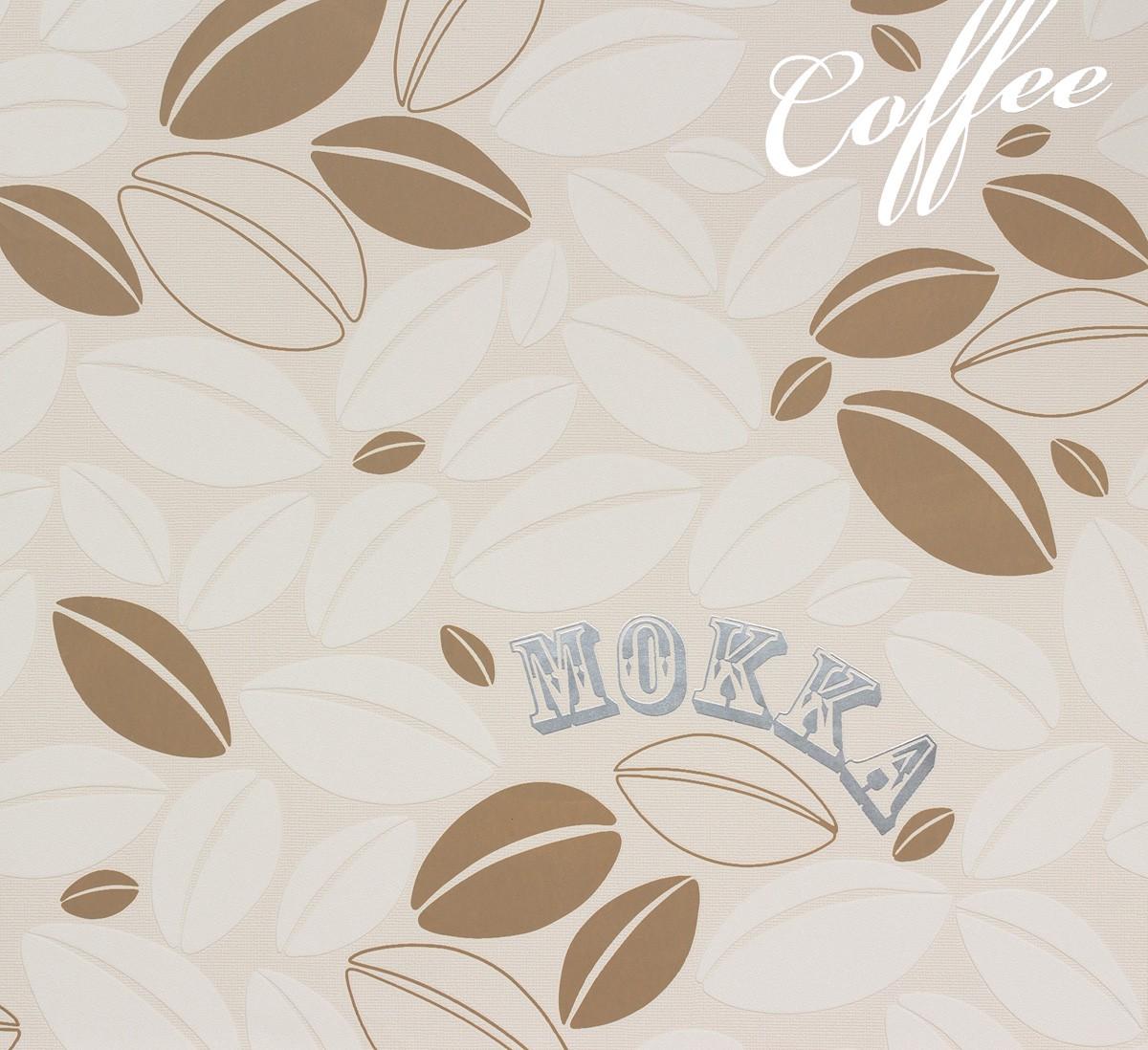 Tapete Cappuccino As Creation : Details zu Tapete Vlies Kaffeebohne creme beige Marburg 56627