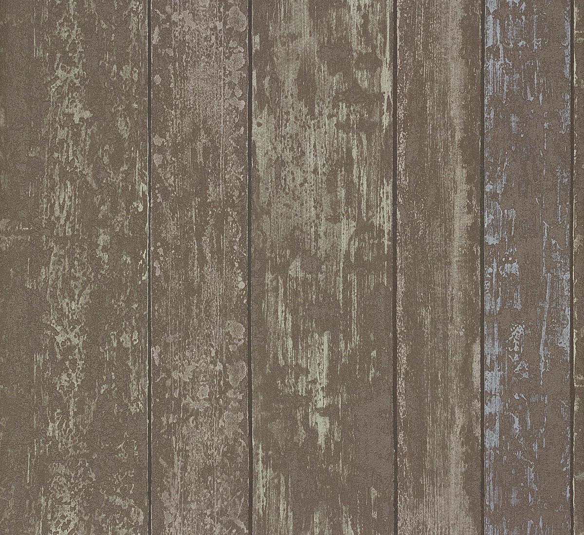 Rasch Tapeten Home Style : Details zu Tapete Vlies Holz braun Rasch Home Style 859614