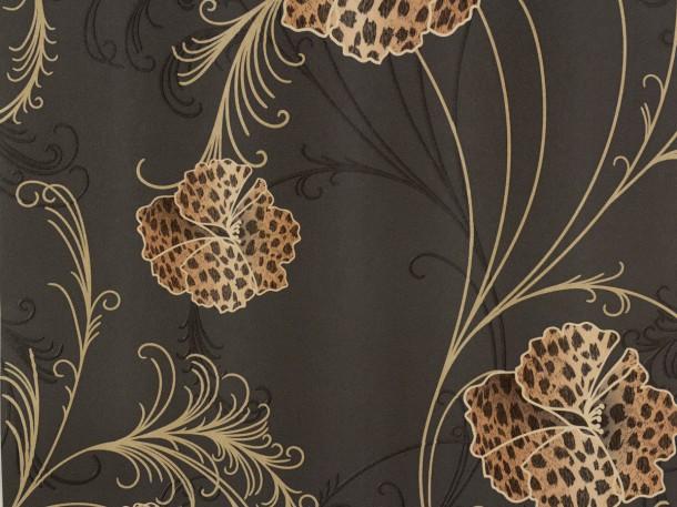 blumen tapete turkis die neuesten innenarchitekturideen. Black Bedroom Furniture Sets. Home Design Ideas
