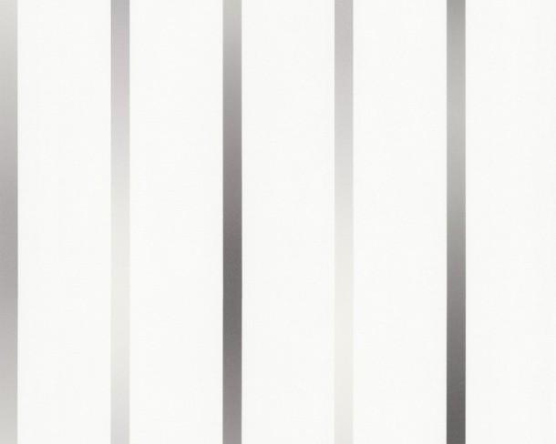 vliestapete grau weis maxistreifen gestreift die neuesten innenarchitekturideen. Black Bedroom Furniture Sets. Home Design Ideas
