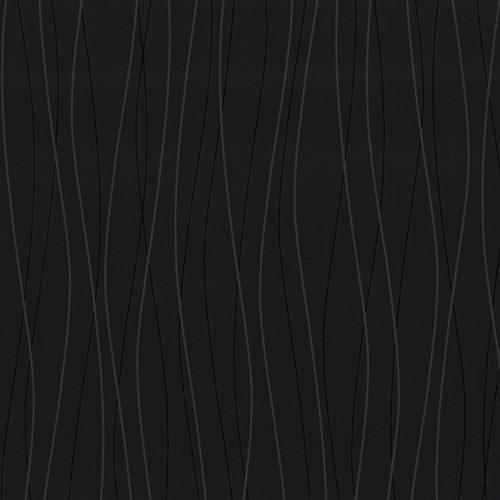 Tapete streifen schwarz grau ihr traumhaus ideen for Tapete schwarz