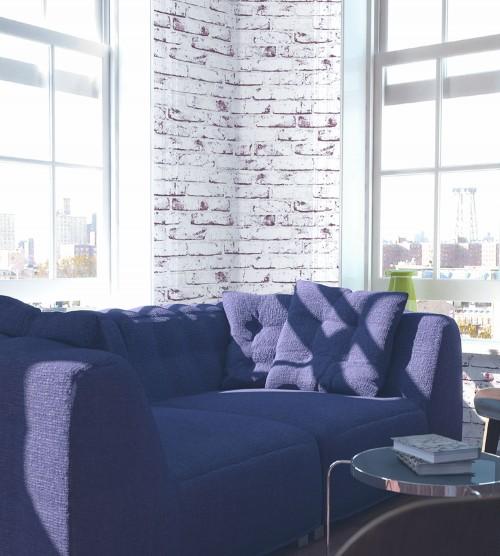 new england tapete as vliestapete stein 9078 37 907837 steintapete wei grau ebay. Black Bedroom Furniture Sets. Home Design Ideas