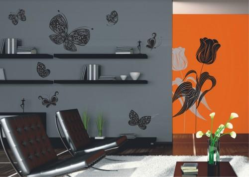 Tapeten Von Decken L?sen : Wandsticker NEU & OVP Flor: hochwertiger Polymerdruck Gr??e: 65 x 85