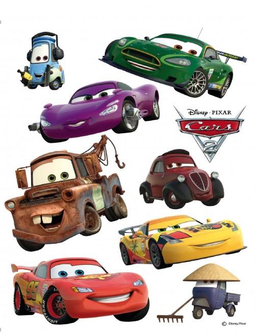 Tapeten Von Decken L?sen : Wandsticker Wandtattoo Kinderdeko Tattoo Disney Cars McQueen & Co