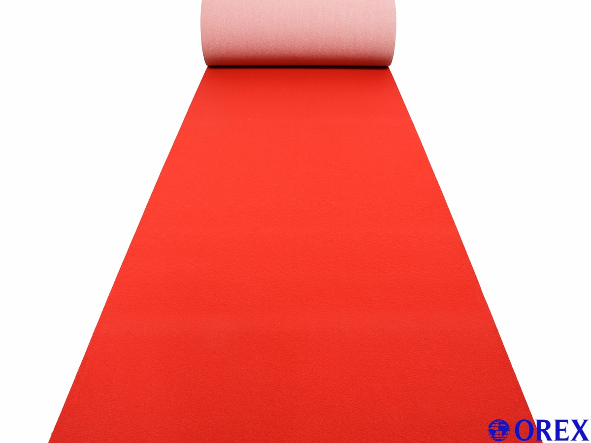 vip roter teppich red carpet event teppich hochzeitsteppich l ufer rot breite 1m ebay. Black Bedroom Furniture Sets. Home Design Ideas