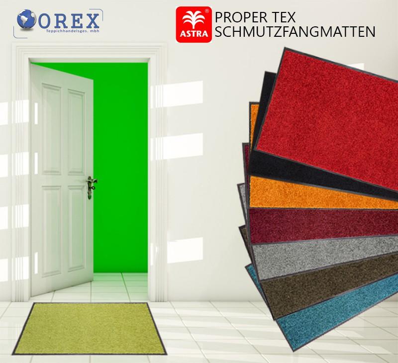 proper tex schmutzfangmatte fussmatte t rmatte eingangsmatte 5 gr en 8 farben ebay. Black Bedroom Furniture Sets. Home Design Ideas