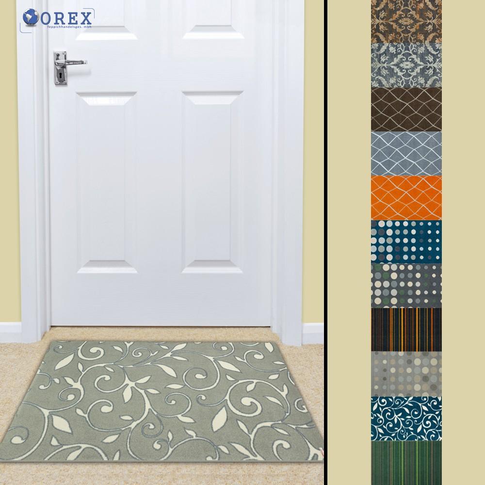 t rmatte sch ner wohnen schmutzfangmatte brooklyn in 2 gr en und 10 designs ebay. Black Bedroom Furniture Sets. Home Design Ideas