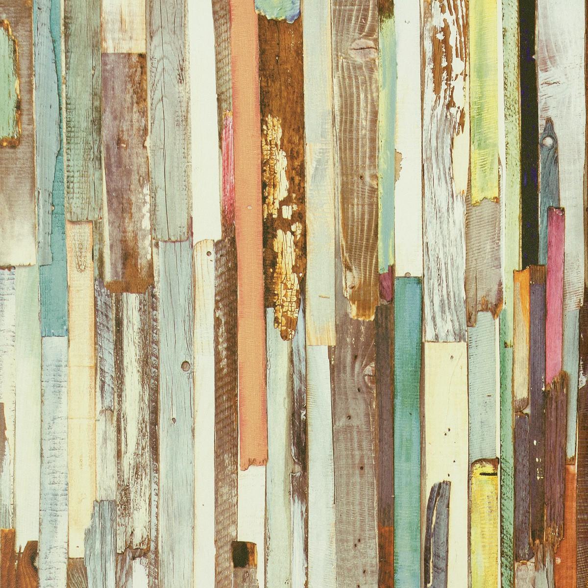 rasch textil tapete holzoptik bunt tapeten newage 319919 ebay. Black Bedroom Furniture Sets. Home Design Ideas