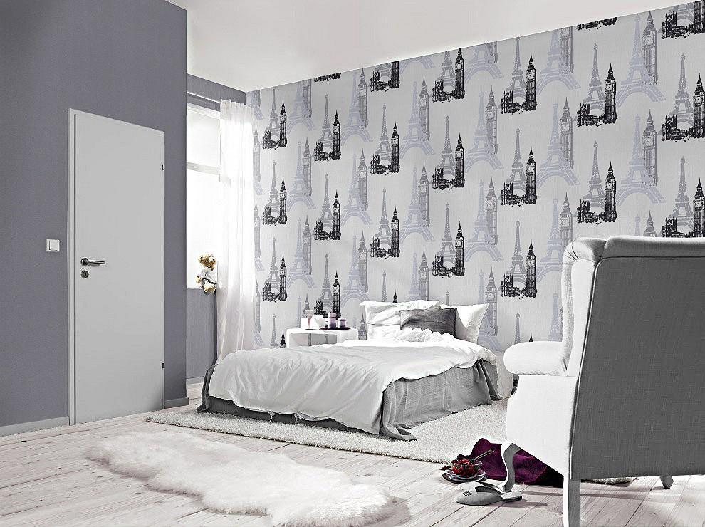 tapete rasch jugend vliestapete 734805 st dte wei kids. Black Bedroom Furniture Sets. Home Design Ideas