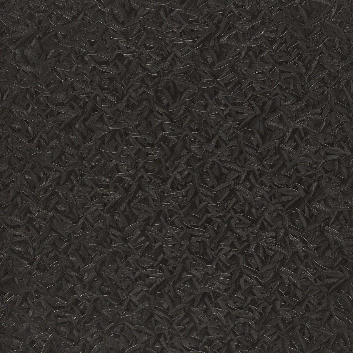 harald gl ckler tapeten schwarz bl tter federn 52507 design. Black Bedroom Furniture Sets. Home Design Ideas