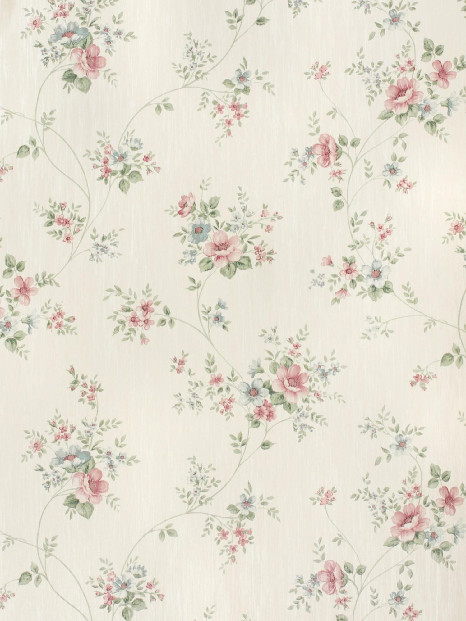 country charm tapete rasch textil satintapete landhaus 298429 rosen rosa blau 2 ebay. Black Bedroom Furniture Sets. Home Design Ideas