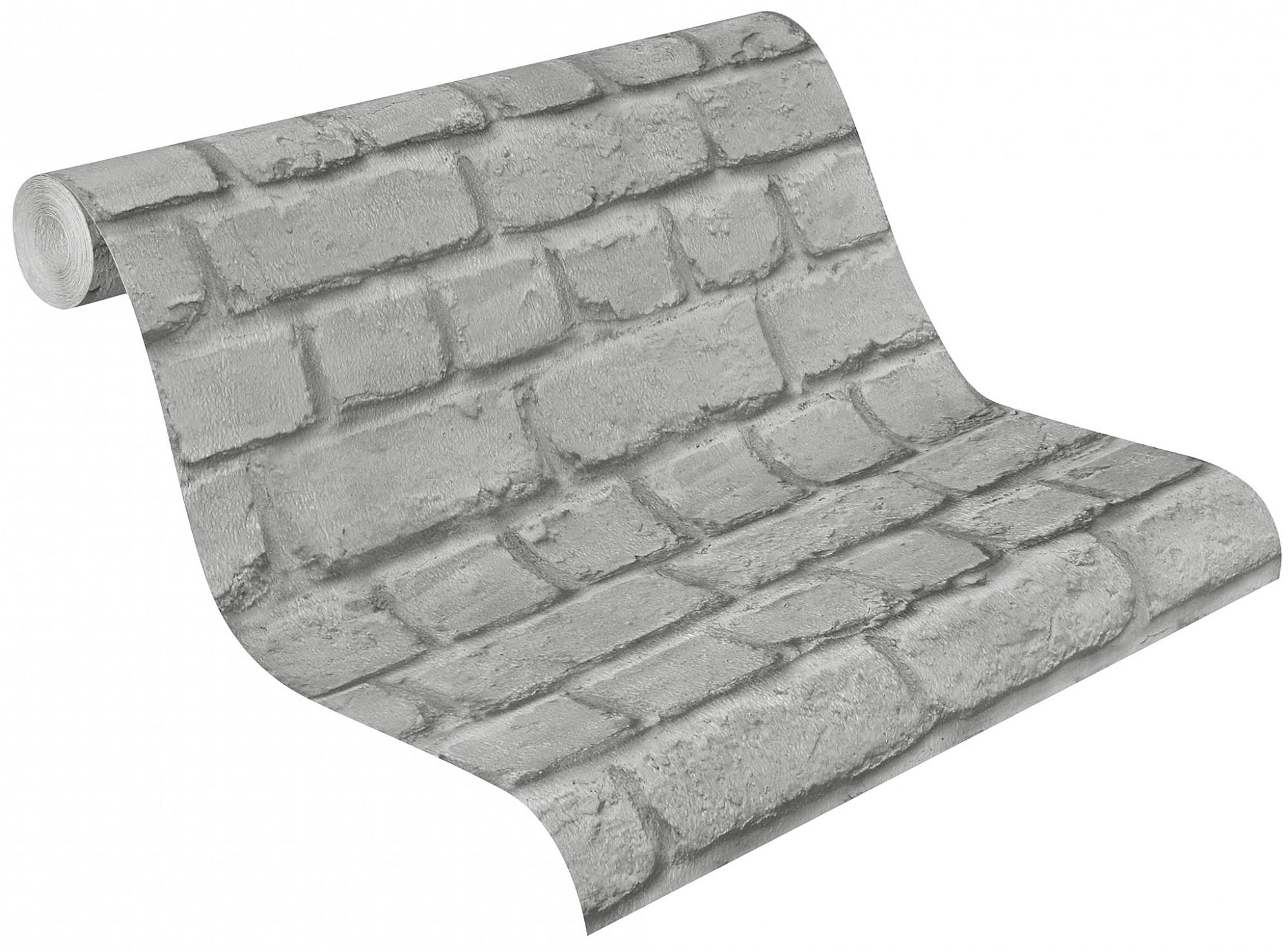 tapete rasch 226720 steine grau steintapete. Black Bedroom Furniture Sets. Home Design Ideas