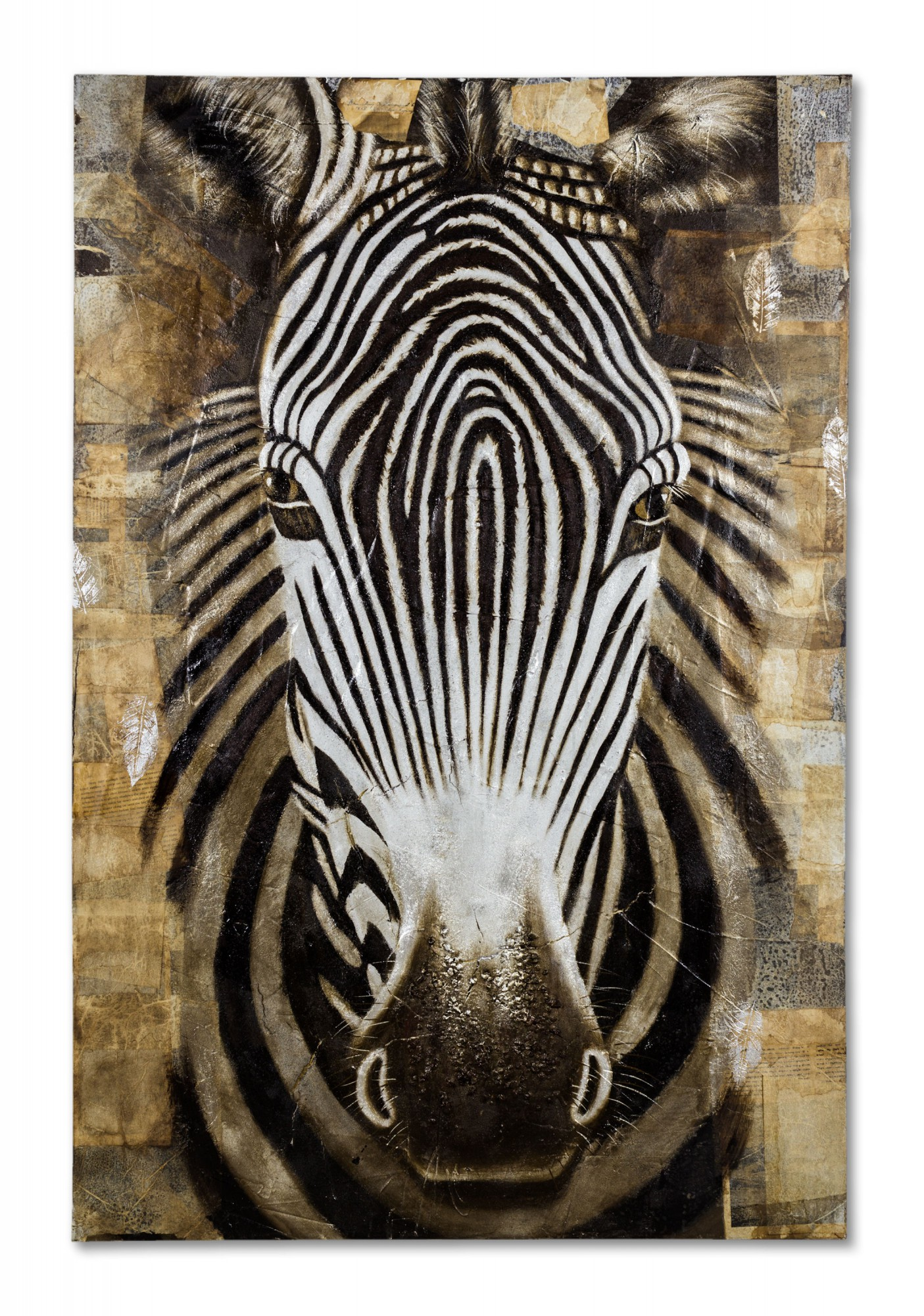 original lgem lde leinwand zebra afrika gem lde 150x100 cm wandbild afrika ebay. Black Bedroom Furniture Sets. Home Design Ideas