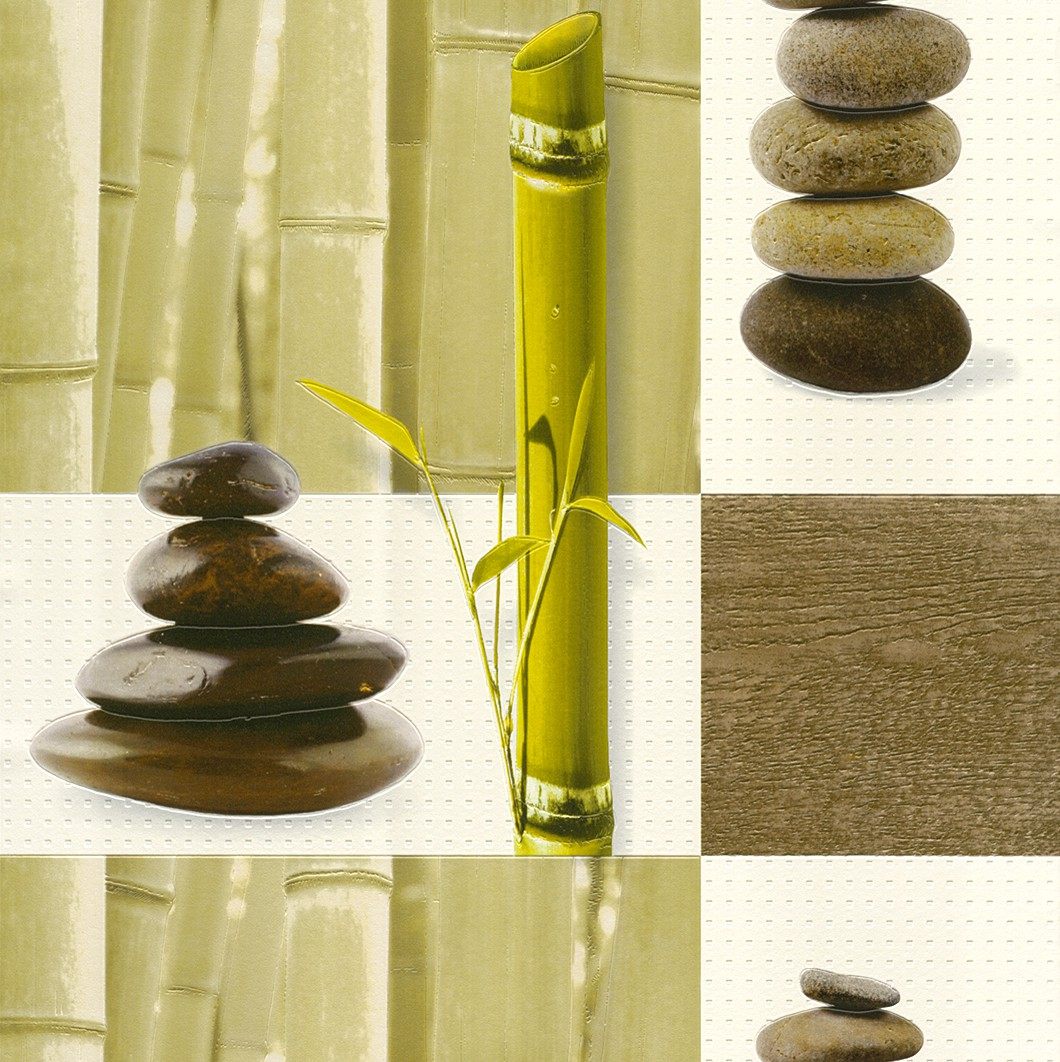k chentapete rasch aqua relief vinyltapete 825701 tapete natur braun gr n 3 75 ebay. Black Bedroom Furniture Sets. Home Design Ideas