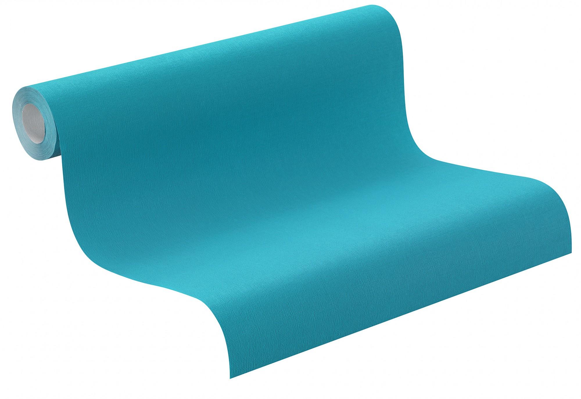 vliestapete rasch tapete 721904 uni t rkis tapeten rasch funky flair 2015. Black Bedroom Furniture Sets. Home Design Ideas