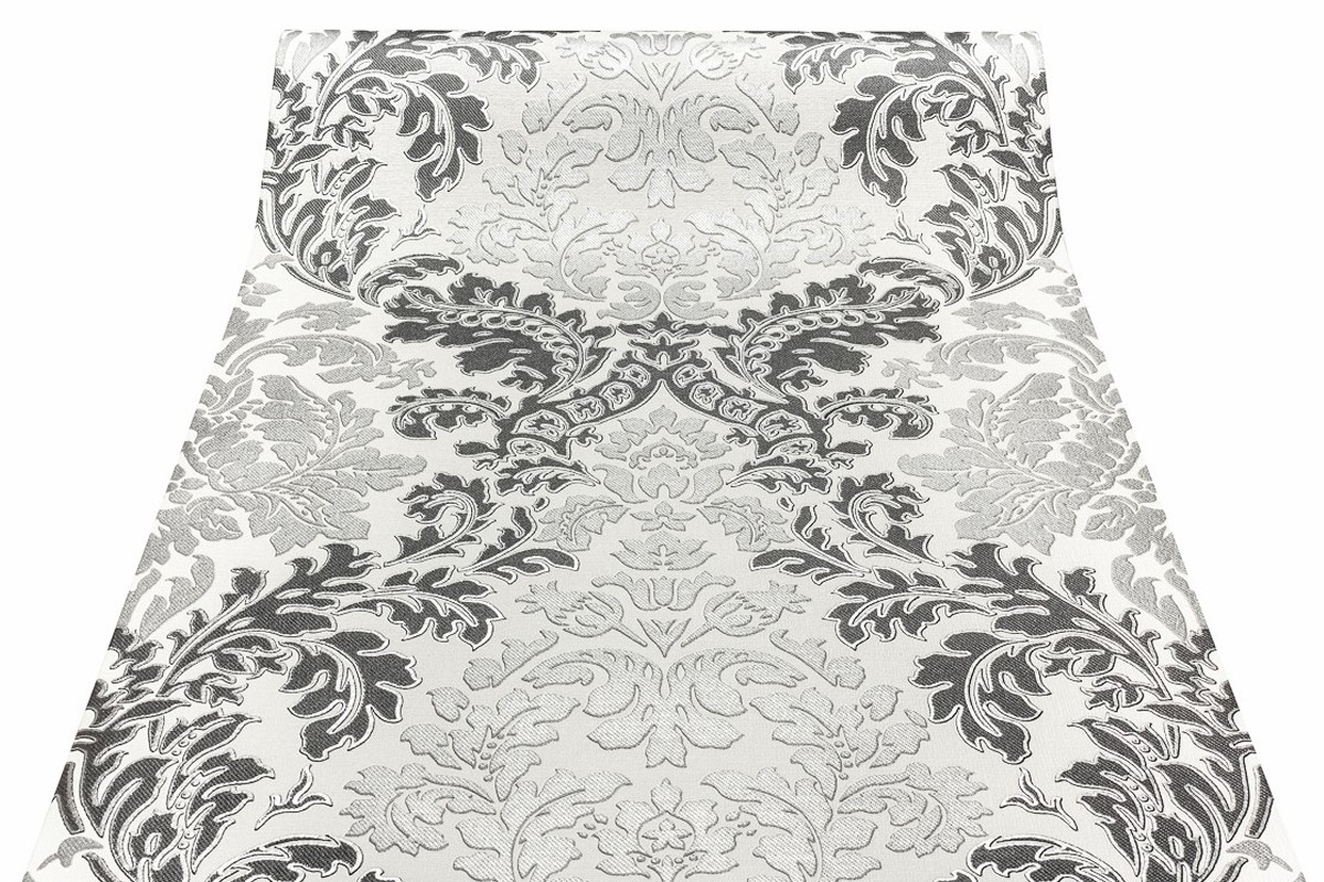 rasch tapete 543407 relieftapete ornament silber schwarz. Black Bedroom Furniture Sets. Home Design Ideas