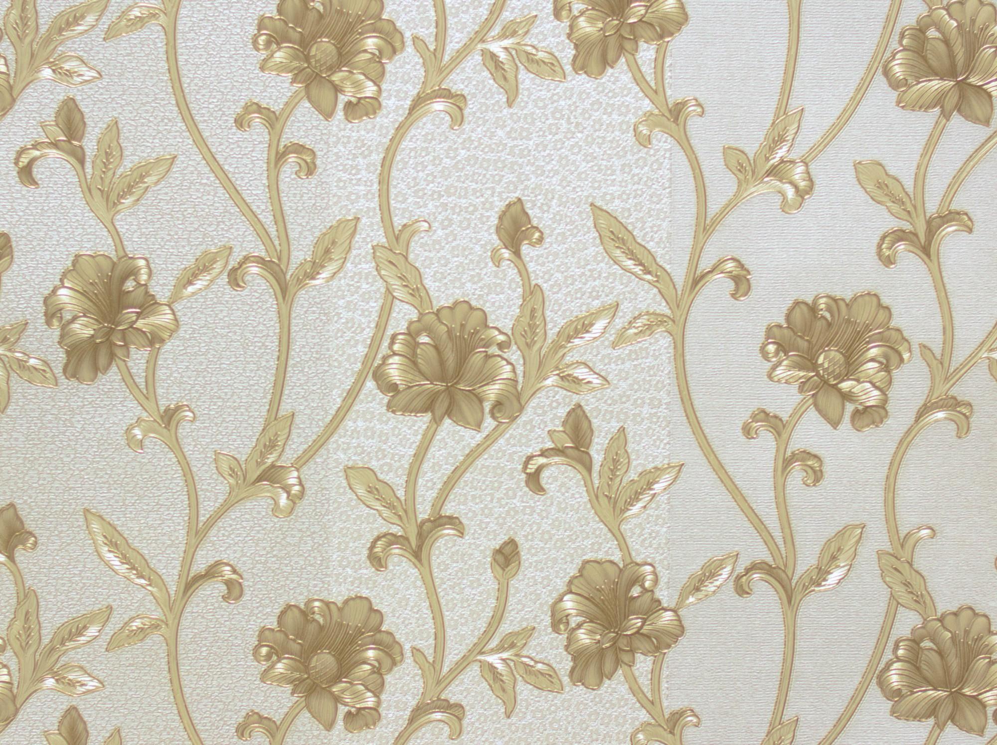 Tapete Hermitage Gestreift grau gold 94344-3