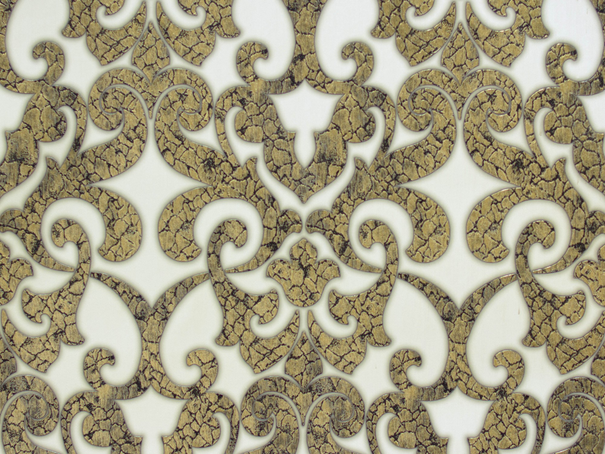 Weiss gold tapeten alle ideen ber home design for Ornament tapete rosa