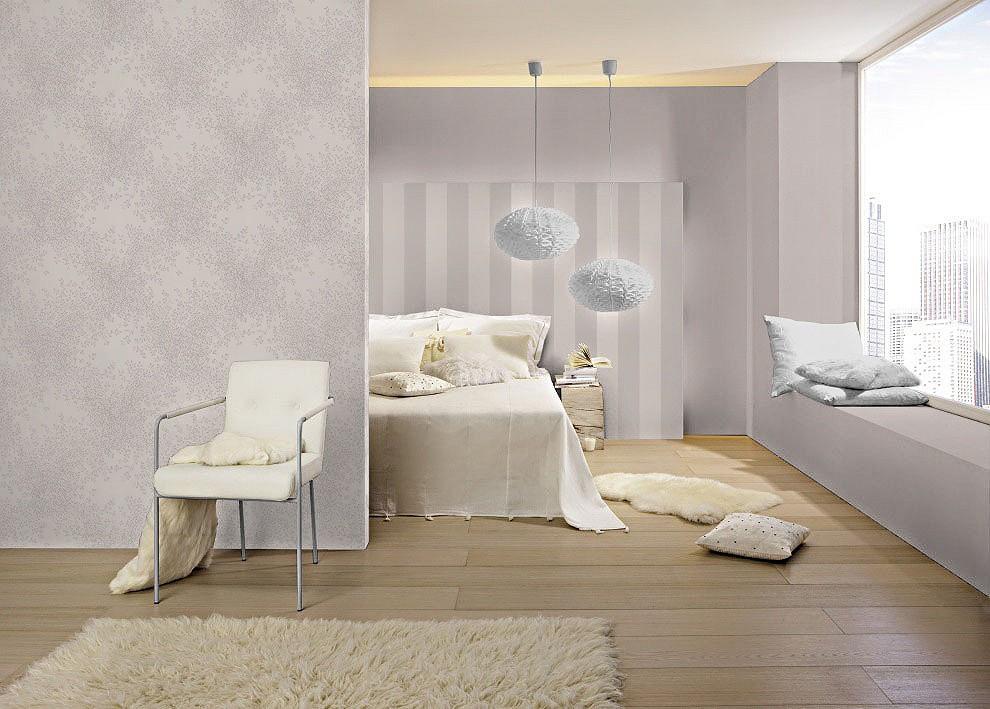 vliestapete rasch lazy sunday tapete 451948 ranken wei grau. Black Bedroom Furniture Sets. Home Design Ideas