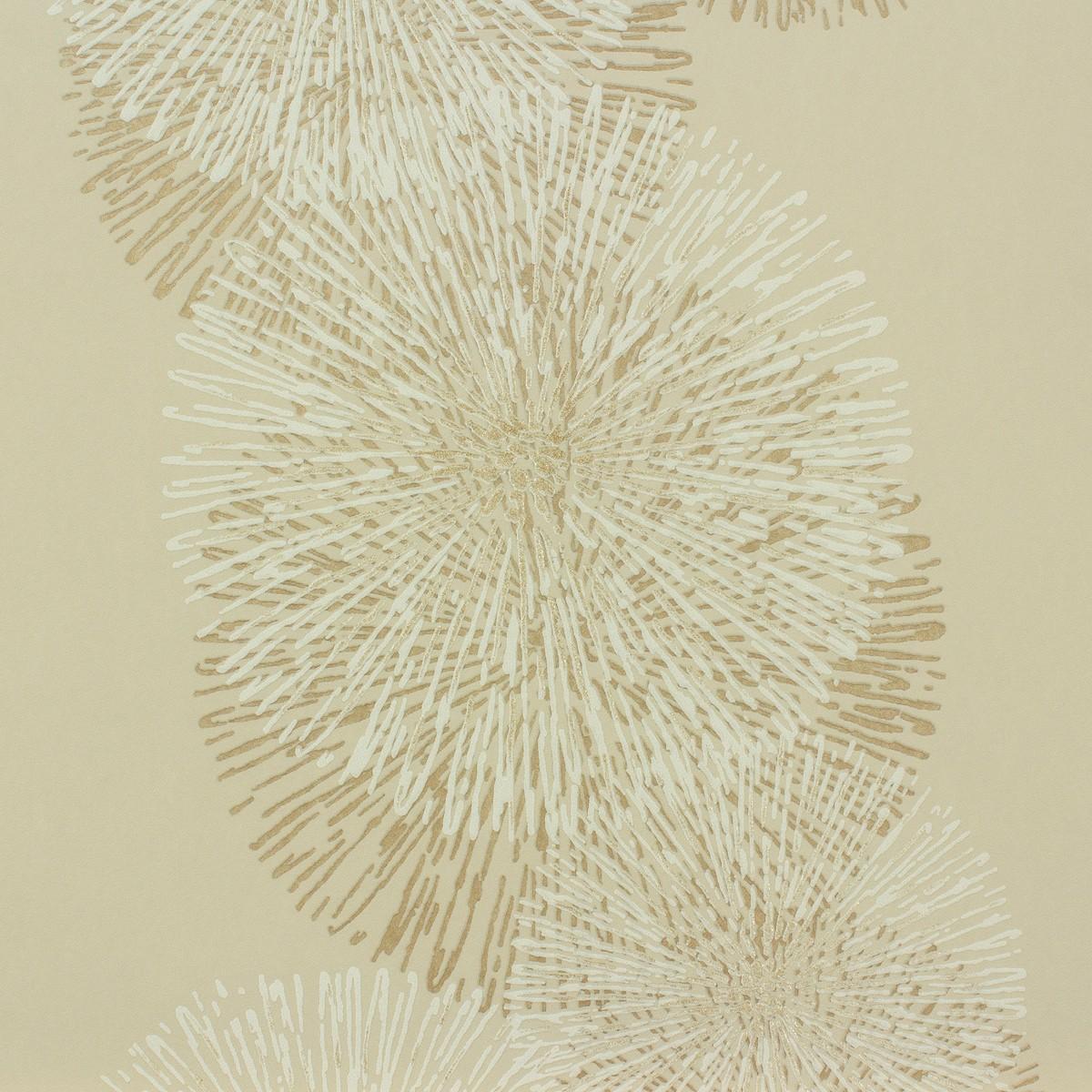 sch ner wohnen 6 tapete beige floral 94359 2. Black Bedroom Furniture Sets. Home Design Ideas
