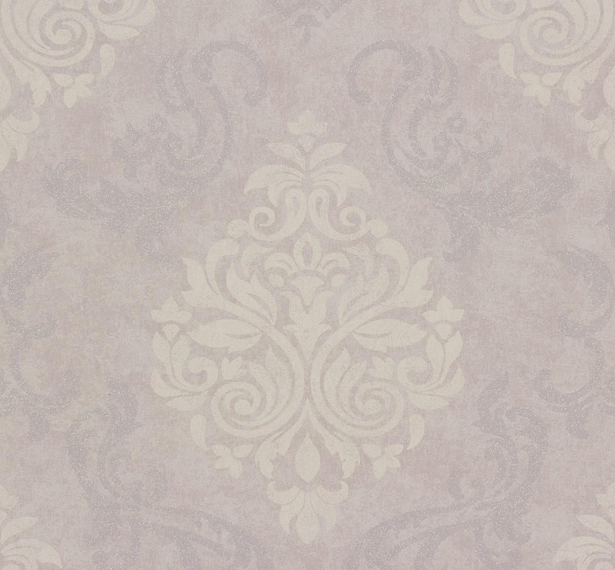 Vliestapete memory tapete barock 95372 2 953722 flieder for Tapete flieder grau