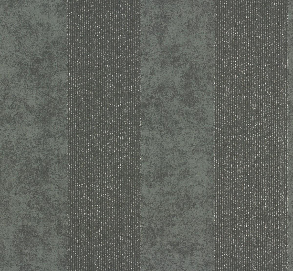 Vliestapete memory tapete streifen 95373 4 953734 schwarz for Tapete schwarz