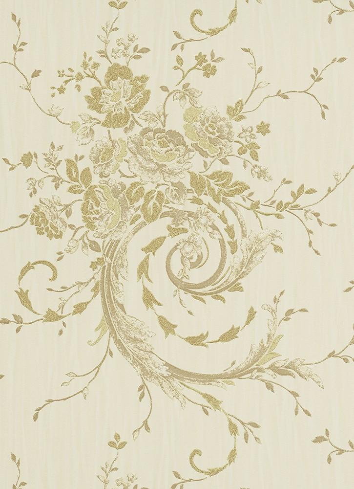 tapete beige gold vliestapete eleganza tapete erismann. Black Bedroom Furniture Sets. Home Design Ideas