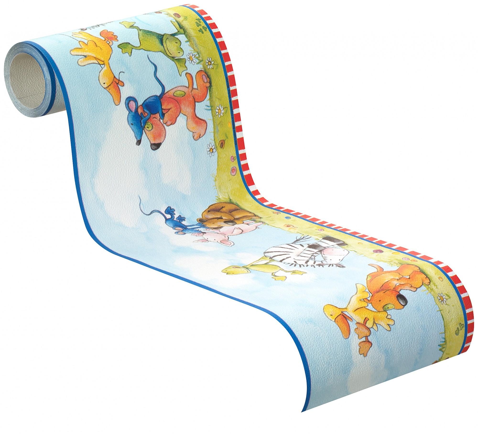 Rasch Tapeten F?r Kinderzimmer : blau bunt Kindertapete Rasch Villa Coppenrath Vol.2 296105 (1 eBay
