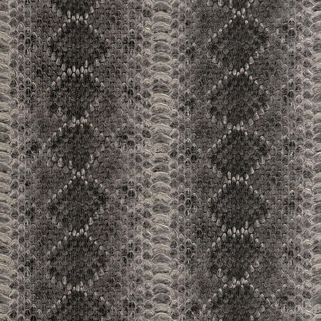 vliestapete silber schwarz schlangenhaut optik rasch. Black Bedroom Furniture Sets. Home Design Ideas