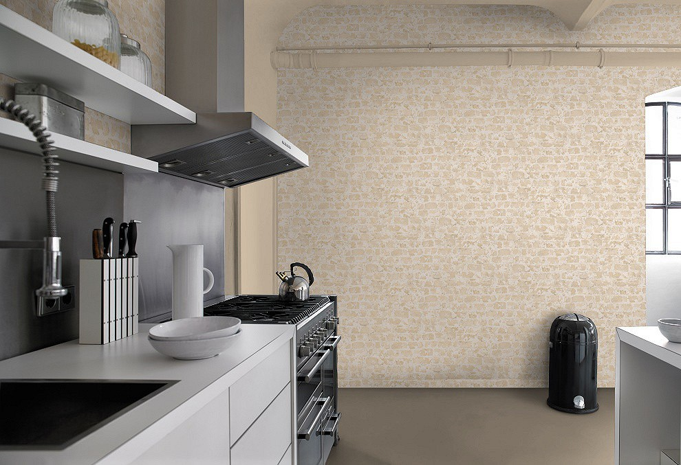 Tapeten Steinoptik Beige : Factory 2 Rasch Tapeten 446210 Steinoptik vintage beige creme