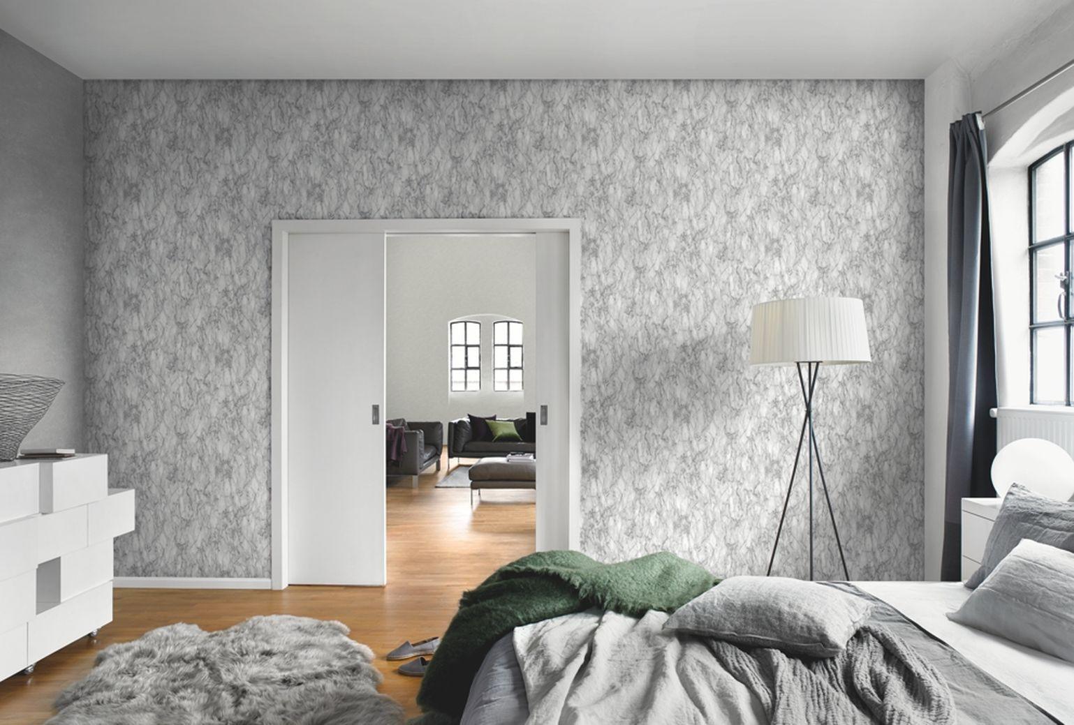 Tapeten rasch schlafzimmer