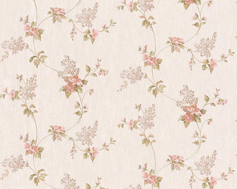 Tapete blumen beige as creation concerto 95928 3 for Tapete beige