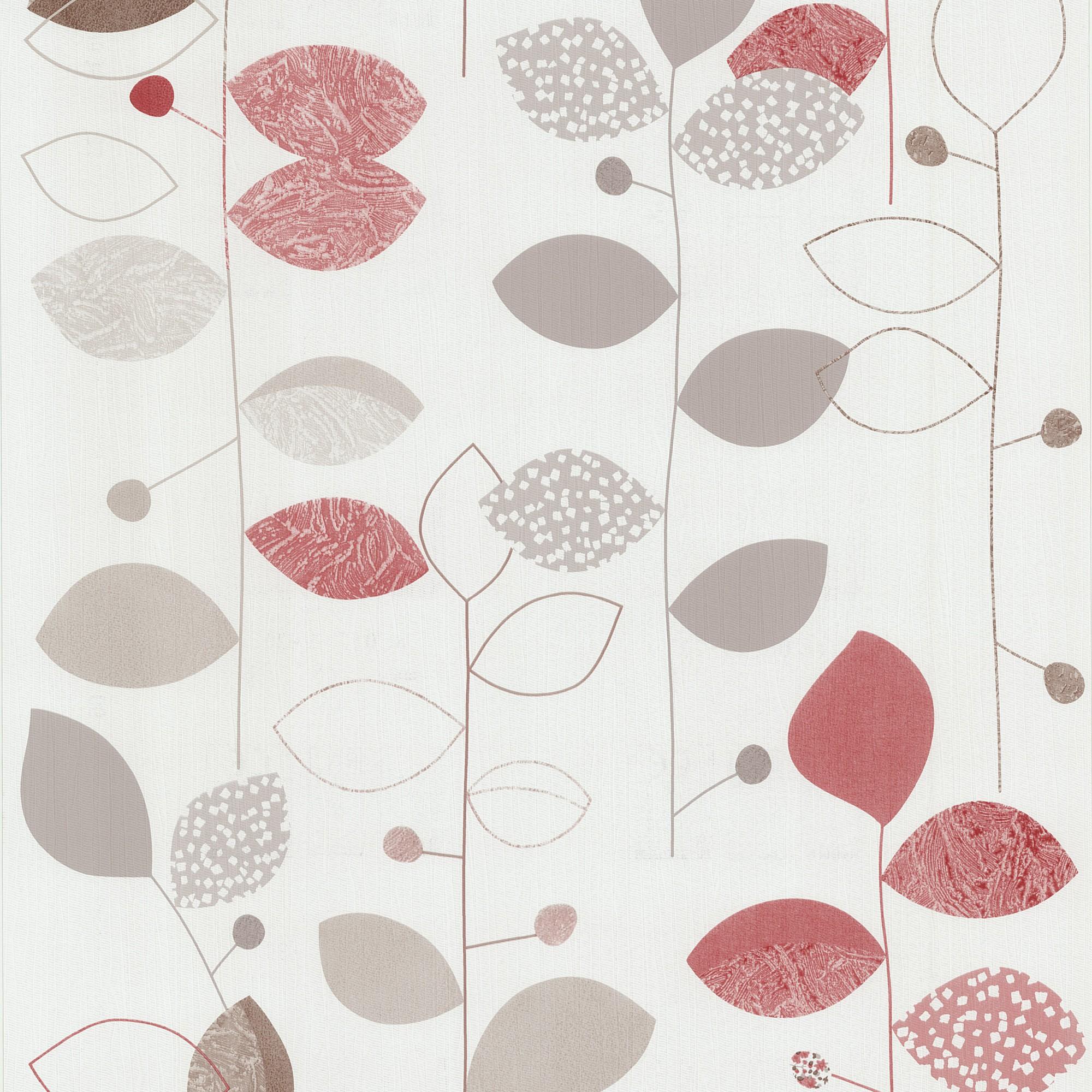 tapeten floral rot braun tapete p s international x treme color 05561 30. Black Bedroom Furniture Sets. Home Design Ideas