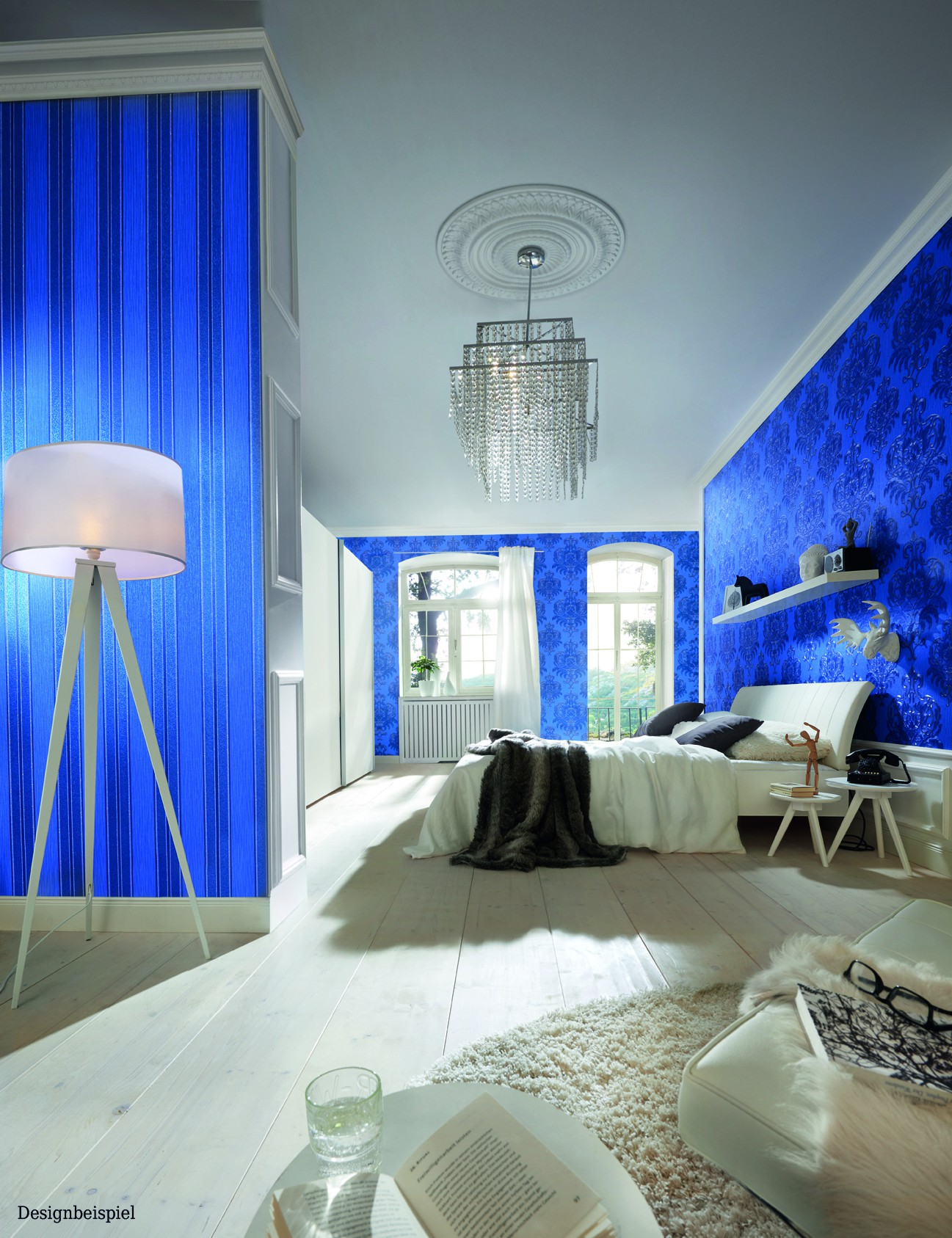 tapete design modern schwarz wei vliestapeten dieter. Black Bedroom Furniture Sets. Home Design Ideas