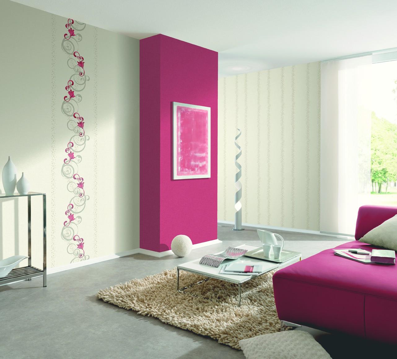 Wohnzimmer Hochglanz Weiss Vliestapete Apricot ~ Kreative Bilder Für Zu  Hause Design Inspiration