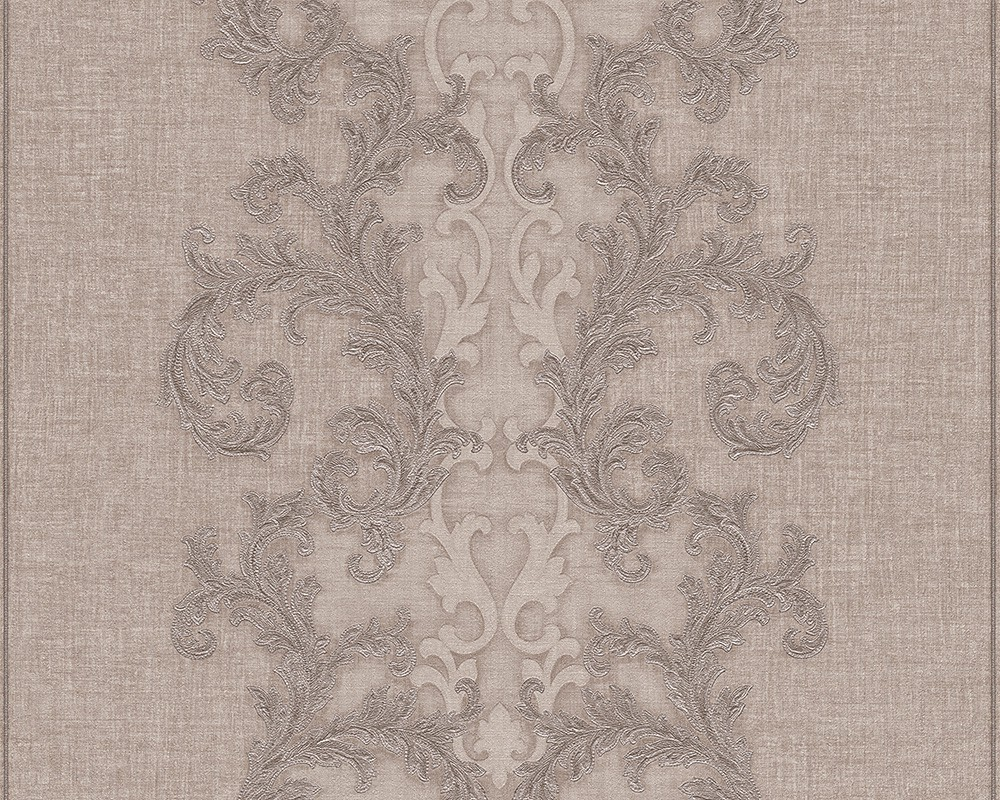 Tapete Vlies Barock silber grau AS Creation Versace 96232 ...