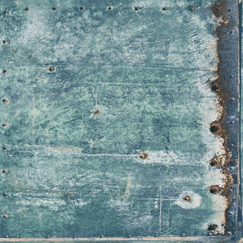 tapete vlies metall blau gr n rotbraun vintage rules 138220. Black Bedroom Furniture Sets. Home Design Ideas