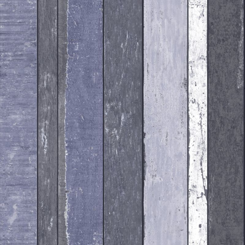 Tapete vlies holz blau grau schwarz vintage rules 138251 for Tapete schwarz grau
