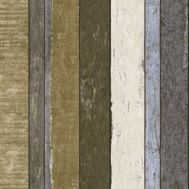 tapete vlies holz braun wei blau vintage rules 138253 4 64 1qm ebay. Black Bedroom Furniture Sets. Home Design Ideas