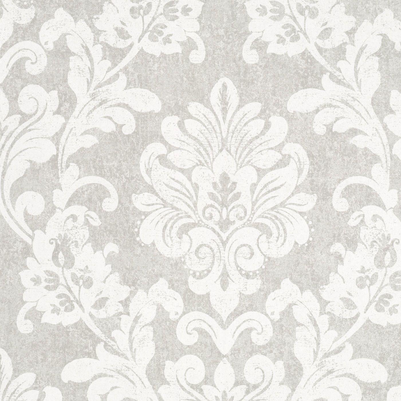 tapete vlies grau barock padua marburg 56152. Black Bedroom Furniture Sets. Home Design Ideas