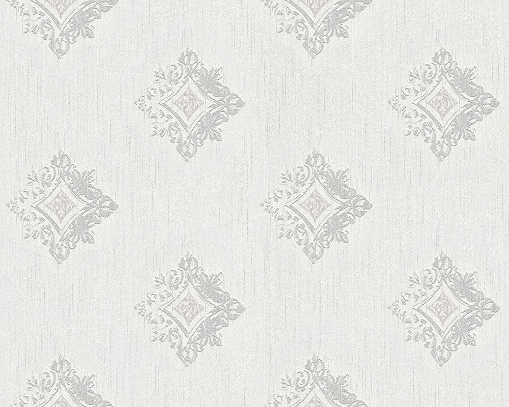 wei graue barock vlies tapete kreatives haus design