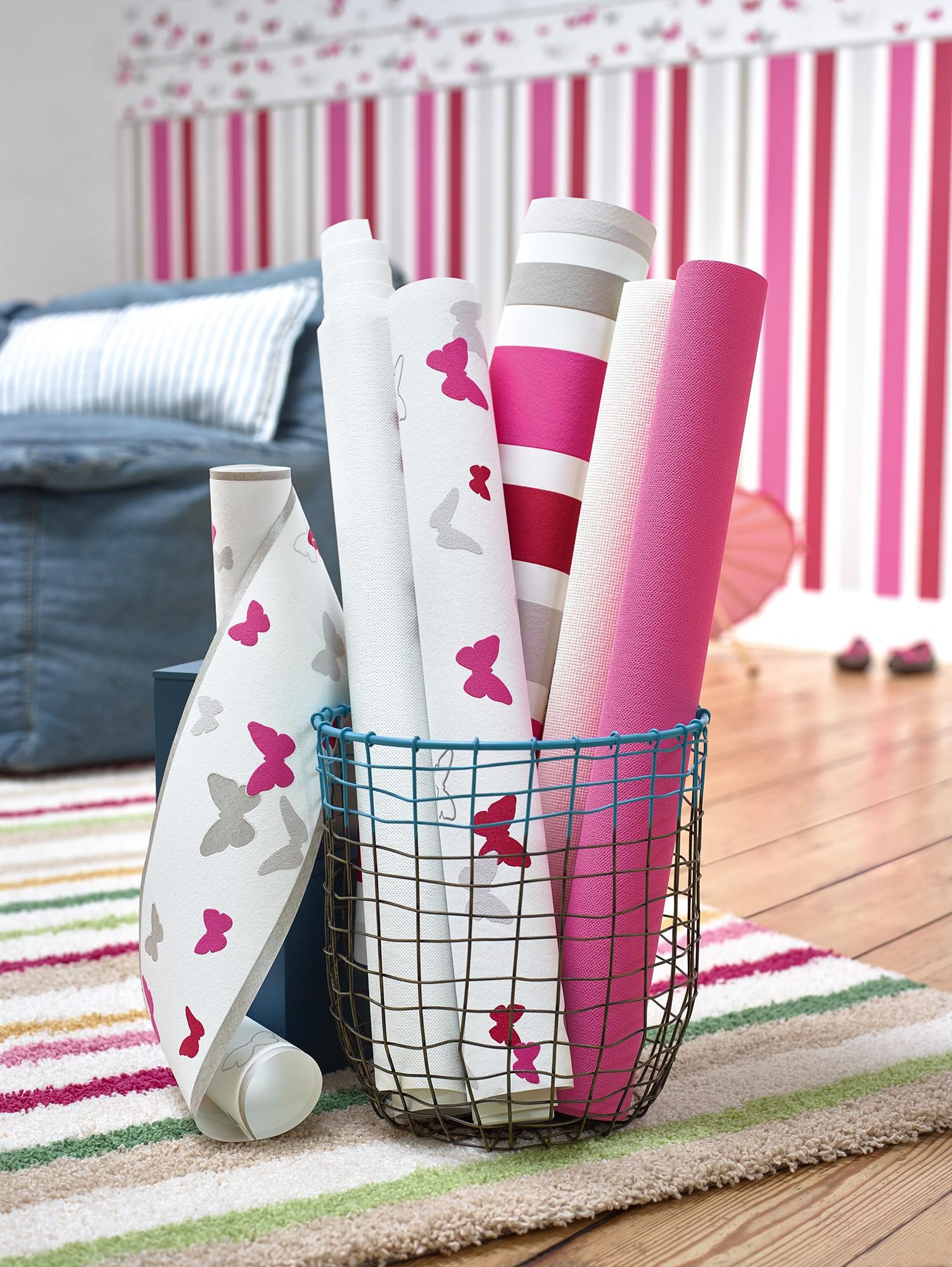 tapete esprit kids kinder einfarbig grau 3115 80. Black Bedroom Furniture Sets. Home Design Ideas