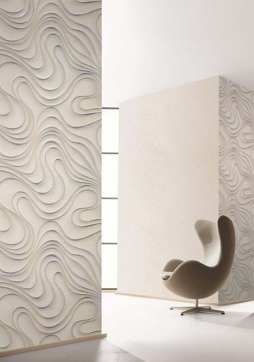 colani tapete evolution marburg wellen beige 56319. Black Bedroom Furniture Sets. Home Design Ideas