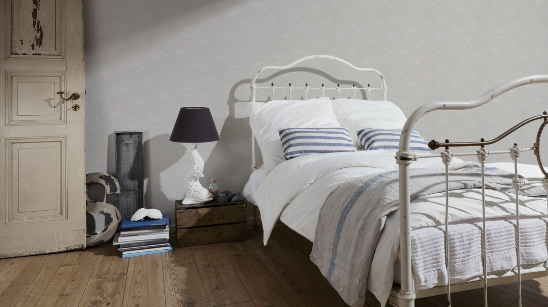 Schoner Wohnen Wohnzimmer Tapeten : Schöner wohnen tapete floral grau ...