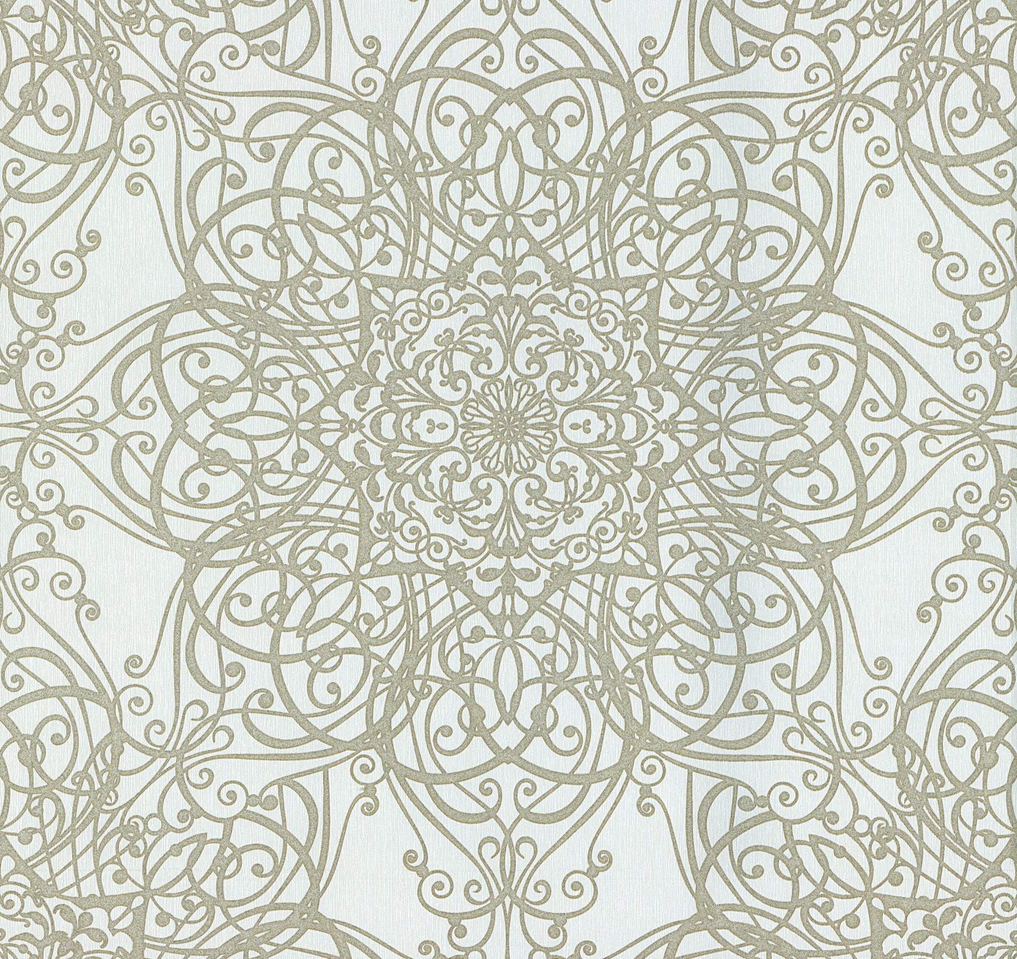 guido maria kretschmer tapete creme ornament 02465 20. Black Bedroom Furniture Sets. Home Design Ideas