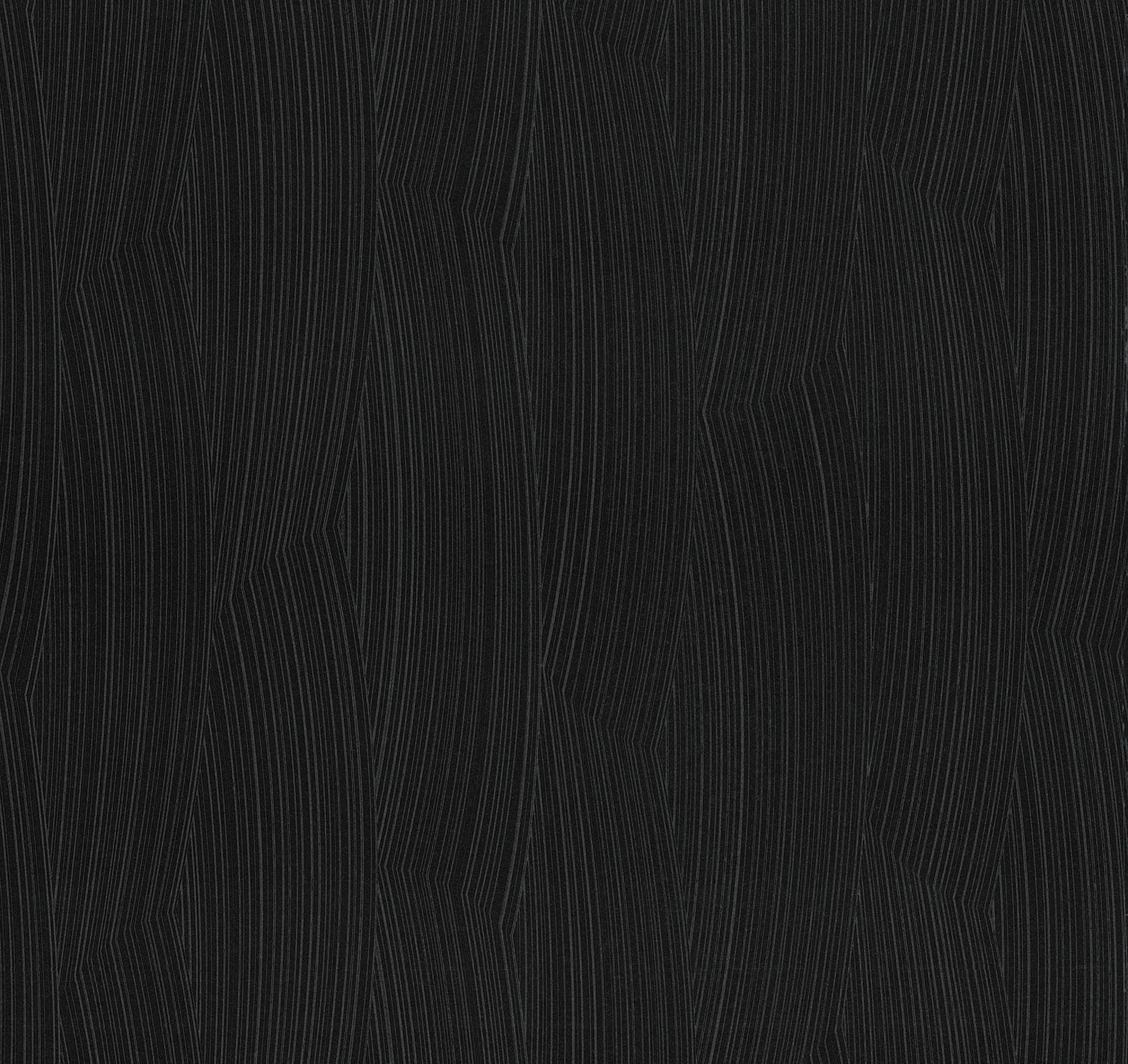 Guido maria kretschmer tapete schwarz uni 02467 40 for Tapete schwarz
