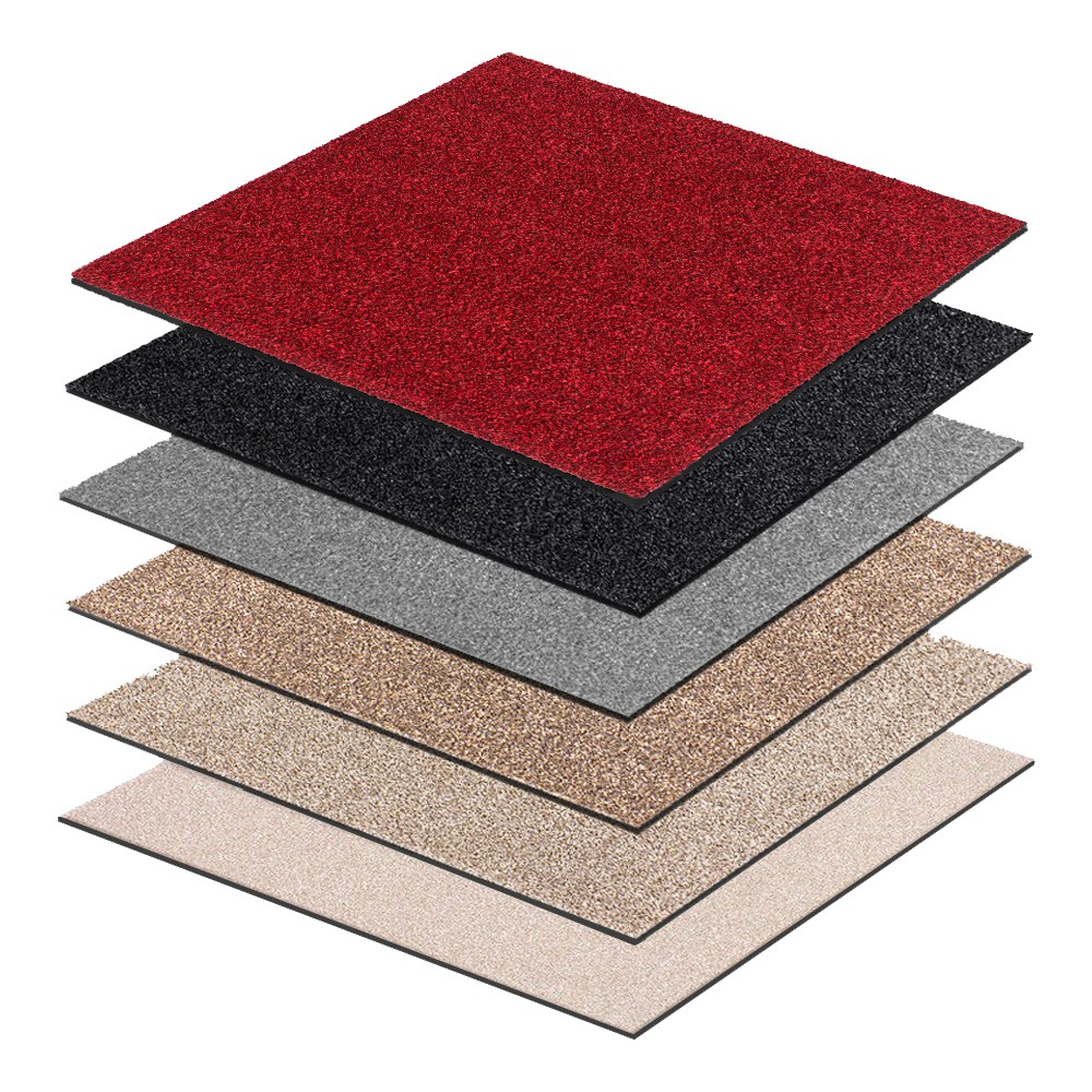 teppichfliesen intrigo teppichplatten bodenbelag teppich fliesen 9 92 m ebay. Black Bedroom Furniture Sets. Home Design Ideas