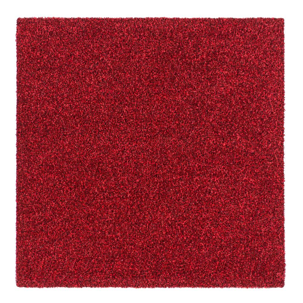 teppichfliesen intrigo velours teppichplatten bodenbelag rot 9 76 1qm ebay. Black Bedroom Furniture Sets. Home Design Ideas